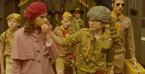 Moonrise Kingdom, niños