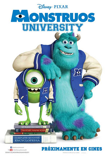 Monsters University ,cartel