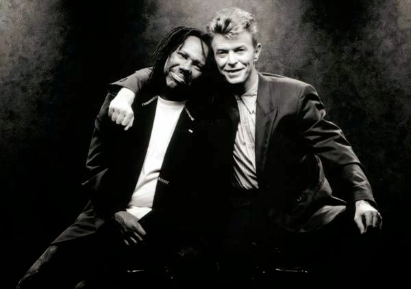 David Bowie con Nile Rodgers