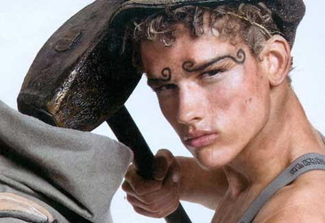 Simon Nessman, divertido