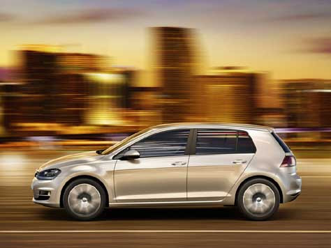 Volkswagen Golf, en movimiento