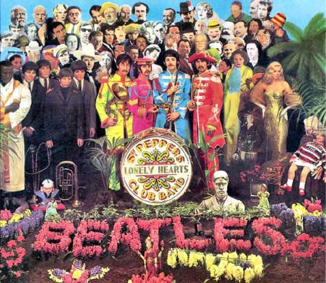 Portada del Sgt. Pepper's de los Beatles