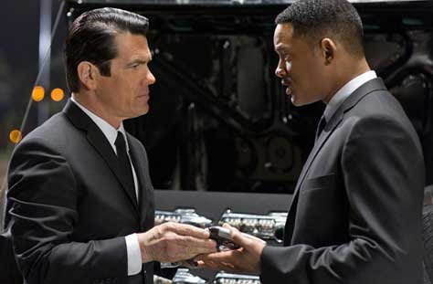 Men in Black 3, Will Smith y Josh Brolin