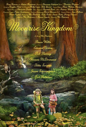 Moonrise Kingdom, cartel