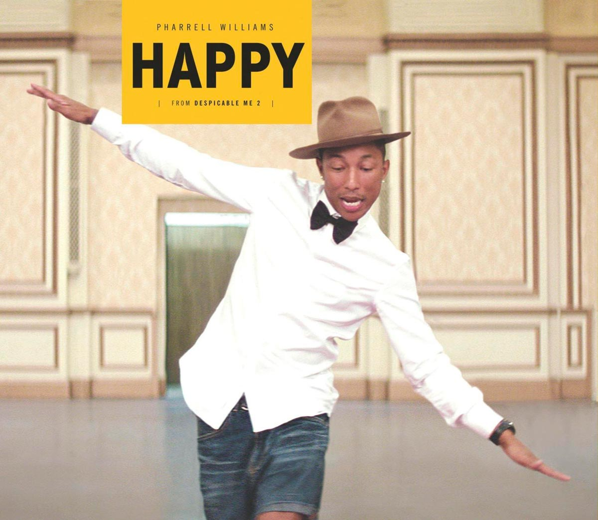 Pharrell Williams: Happy - la portada de la canción