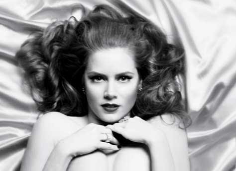 Amy Adams, en blanco y negro