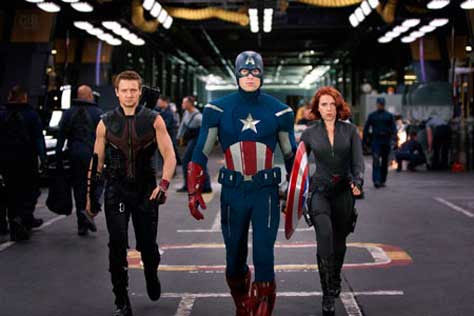 Marvel-Los vengadores, Chris Evans