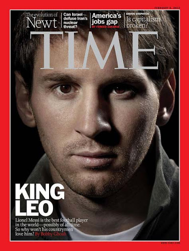 Lionel Messi, revista Time