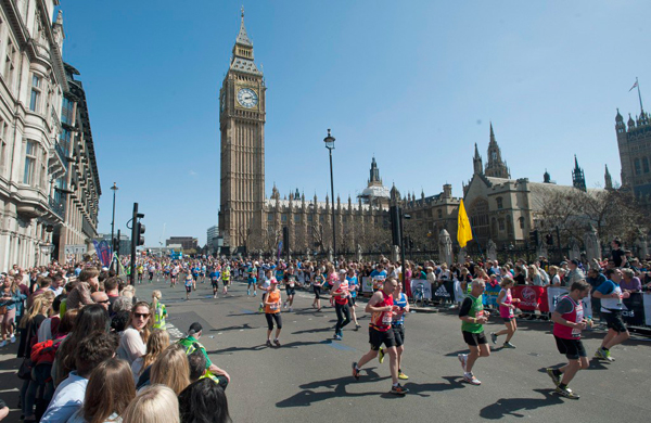 Maratón de Londres Virgin Money