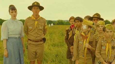 Moonrise Kingdom, niños y Edward Norton