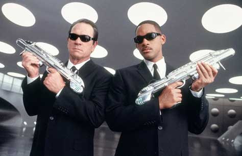 Men in Black 3, Will Smith y Tommy Lee Jones