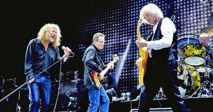 10 canciones de Led Zeppelin